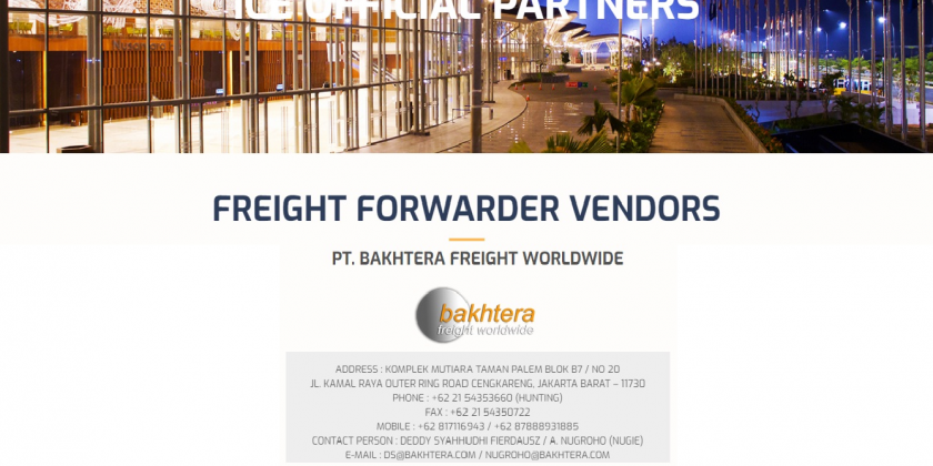 ice official freight forwarder pt. bfw